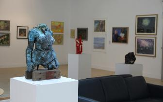 Leeds Fine Artists exhibits