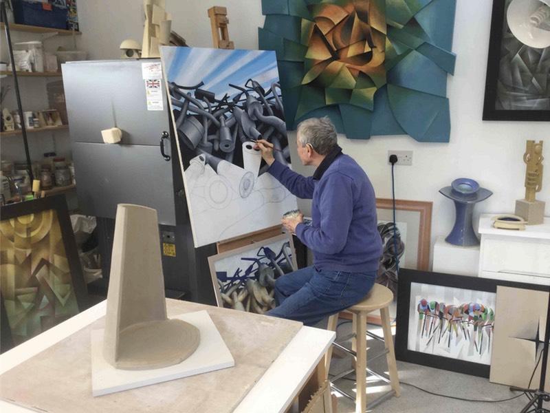 Work for Stanley and Aubrey Burton Gallery