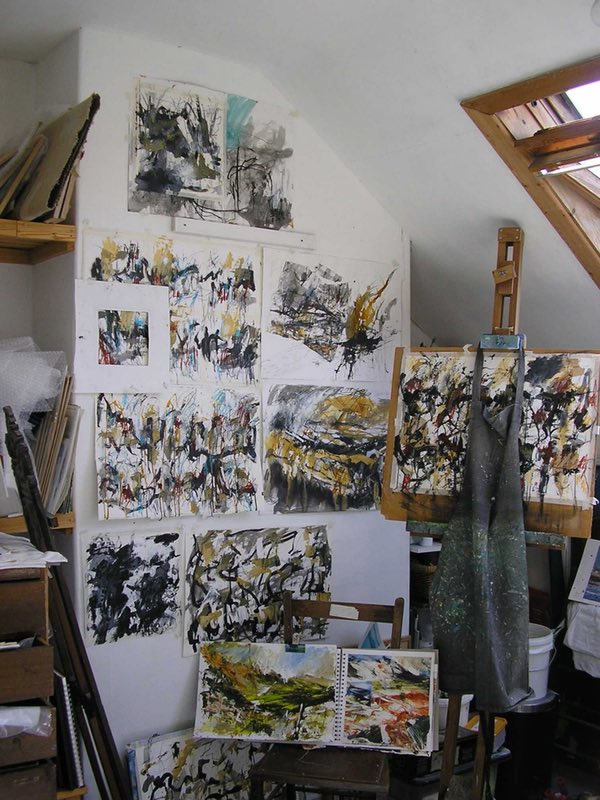 'Straight from the studio – Work in progress'