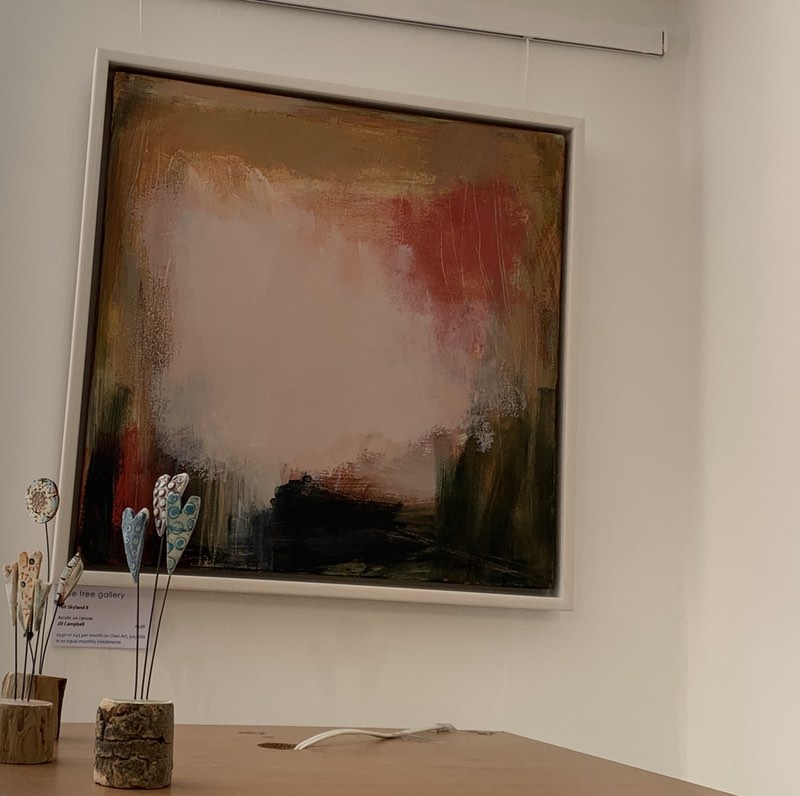 Featured Artist in the Blue Tree Gallery in York