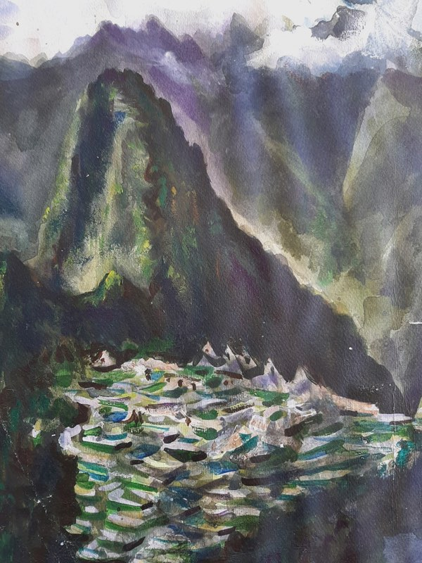 Royal Watercolour Society Autumn Exhibition ' Art in Lockdown' and Scarborough Art Gallery Exhibition