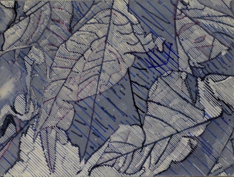 New Print Triptych: 'Shadows Through New Leaf'