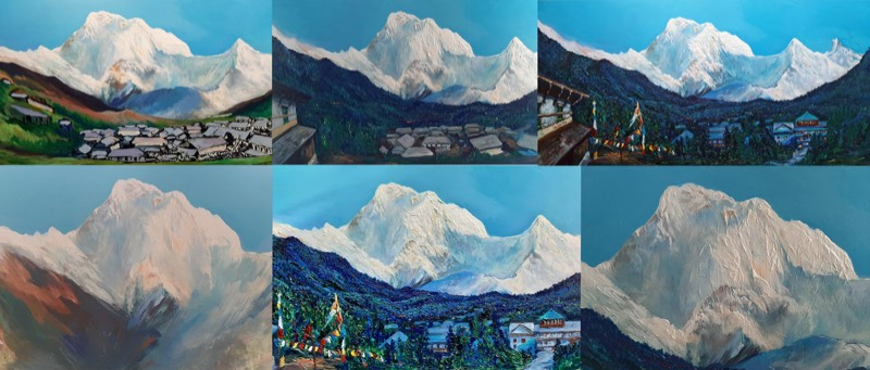 Back to travel and points of reference, my Himalayan Journeys