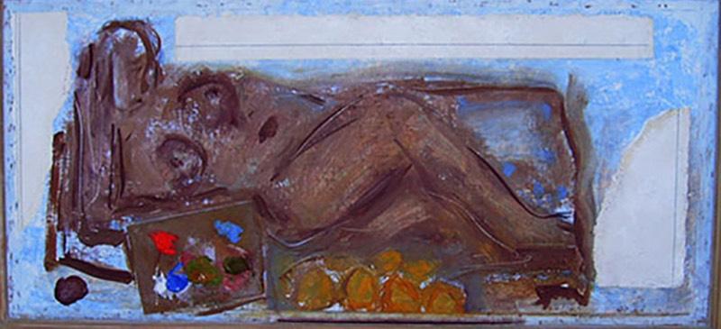 Two Paintings in focus